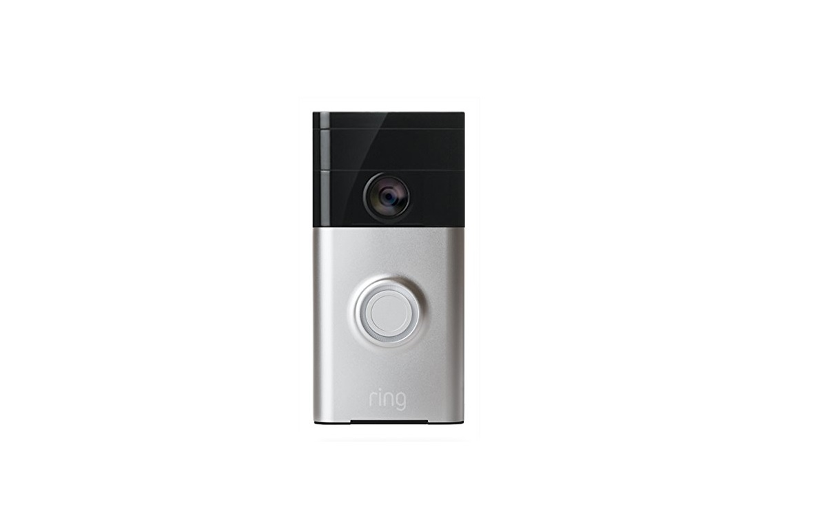 Ring Wi-Fi Enabled Video Doorbell for $124.99 at Amazon
