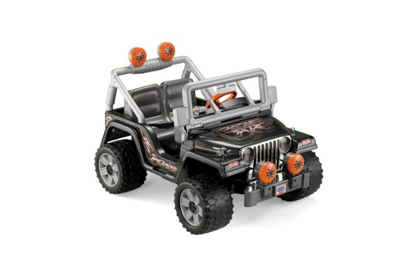 Fisher-Price Power Wheels Tough Talking Jeep Wrangler Ride-on for $159.74 at Amazon