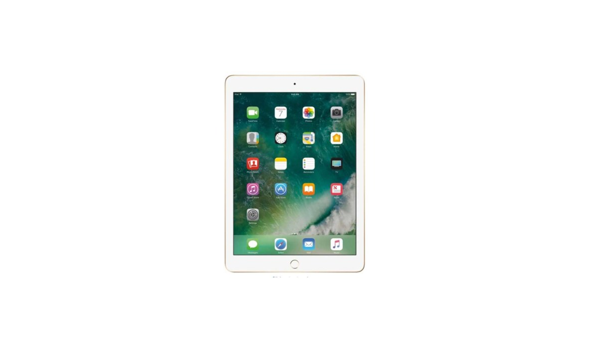 Apple iPad Latest Model with WiFi 32GB Gold for $299.99 at Best Buy