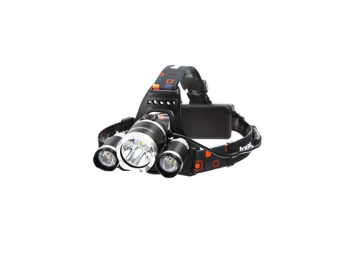 InnoGear 5000 Lumens LED Headlamp with Rechargeable Batteries for $27.99 at Amazon