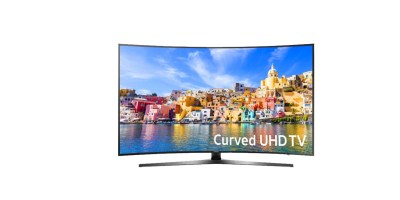 Samsung 43inch Class 42.5inch Diagram LED Curved 2160p Smart 4K Ultra HD TV with High Dynamic Range Black