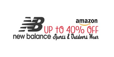 Up to 40% Off New balance
