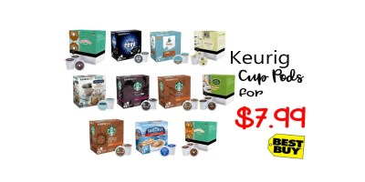 15-Ct. to 20-Ct. Keurig-Cup Pods
