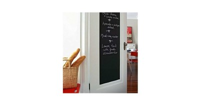 17.7 X 78.7 Inches Fancy-fix Blackboard Vinyl Peel and Stick Self Adhesive Chalkboard Wall Sticker with 5 Chalks