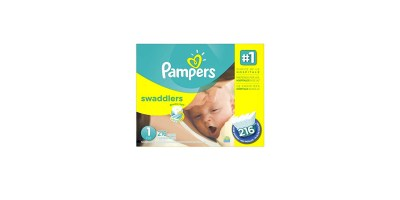 216 Count Pampers Swaddlers Diapers Size 1