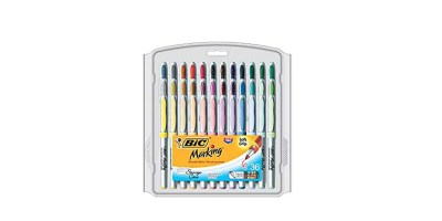 36-Count BIC Marking Permanent Marker Fashion Colors – Ultra Fine Point