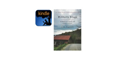 Kindle Edition –Hillbilly Elegy- A Memoir of a Family and Culture in Crisis