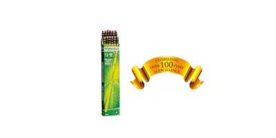 12 – Box Dixon Ticonderoga Wood-Cased Pencils – #2 HB