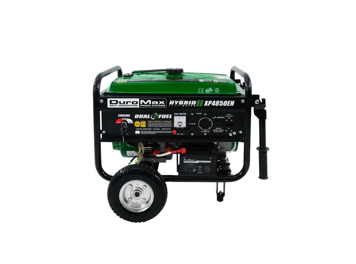 DuroMax XP4850EH Hybrid Portable Dual Fuel Propane / Gas Camping RV Generator for $299.99 at eBay