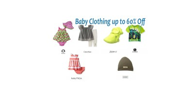 Shop Baby Clothing up to 60% Off