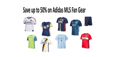 Shop and Save up to 50% on Adidas MLS Fan Gear