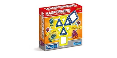 30-pieces Magformers Classic Set colors may vary
