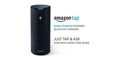 Amazon Tap – Alexa-Enabled Portable Bluetooth Speaker (Certified Refurbished)