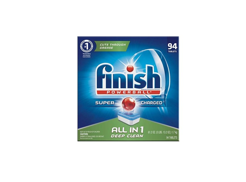Finish All in 1 Powerball Fresh – Dishwasher Detergent Tablets (94ct )