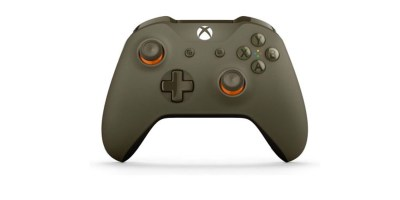 Microsoft Xbox Bluetooth Wireless Controller- GreenOrange (WL3-00035)