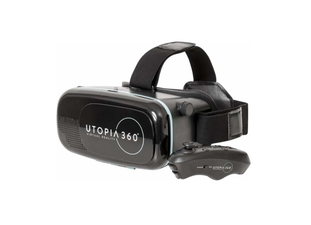 ReTrak Utopia 360° Virtual Reality Headset with Bluetooth Controller for $14.99 at Best Buy