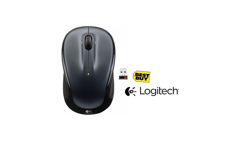 Logitech – M325 Wireless Optical Mouse (Silver)