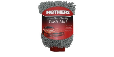 MOTHERS 968801 Mothers Premium Chenille Car Wash Mitt – Scratch & Lint Free