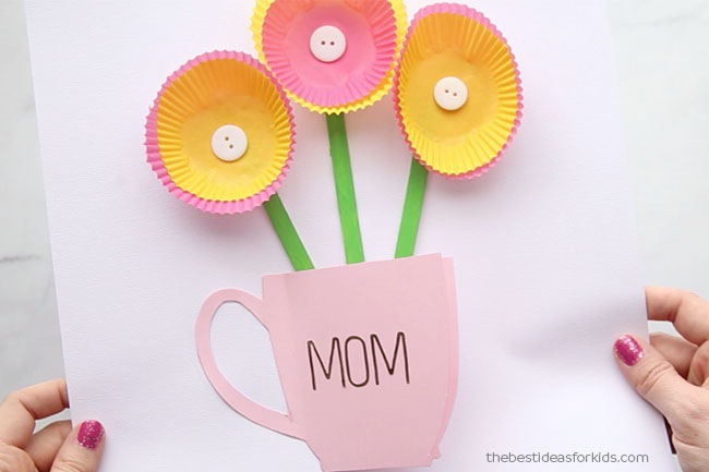 Handmade Mothers Day Card - The Best Ideas for Kids - mother s day cards