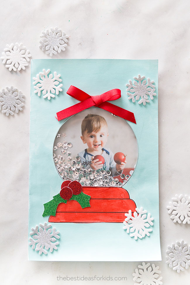 Snow Globe Template Card - The Best Ideas for Kids