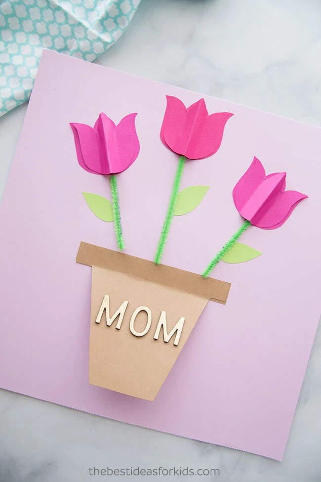 Mother\u0027s Day Card Craft - The Best Ideas for Kids