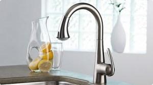 faucet_Grohe-Ladylux3-1-Bevelled Edge Regina Sk Granite, Quartz, laminate
