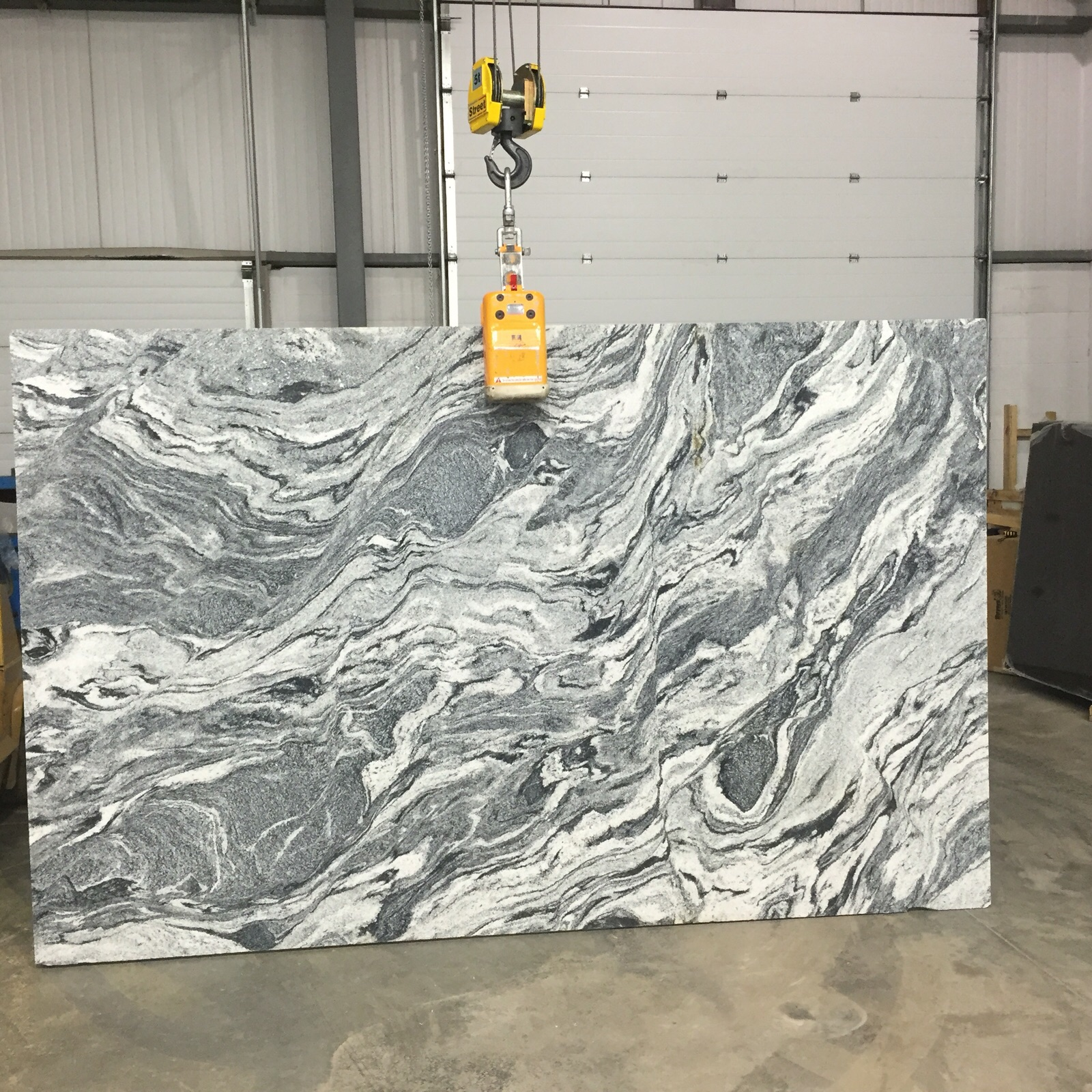 Granite and quartz colours the bevelled edge for Kitchen cabinets regina