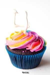 Rainbow Swirl Buttercream Frosting | The Bewitchin' Kitchen