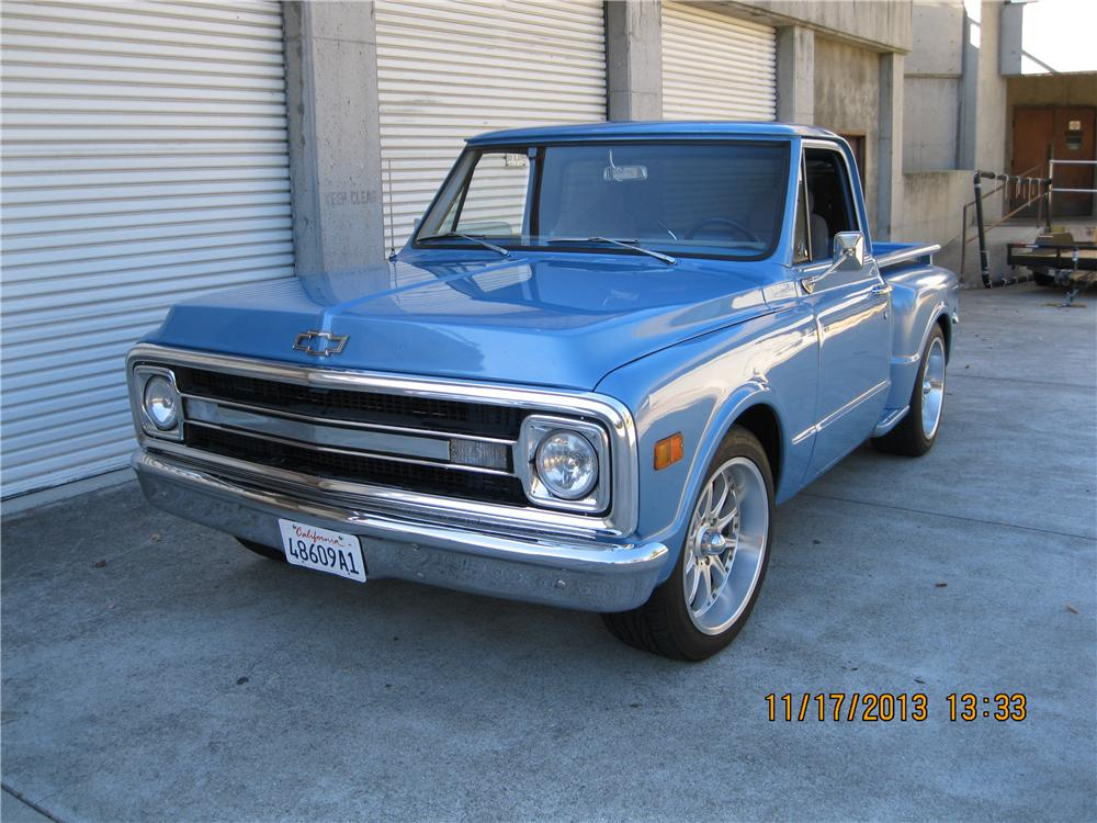 1970 Chevrolet C-10 Custom Pickup - The Bid Watcher
