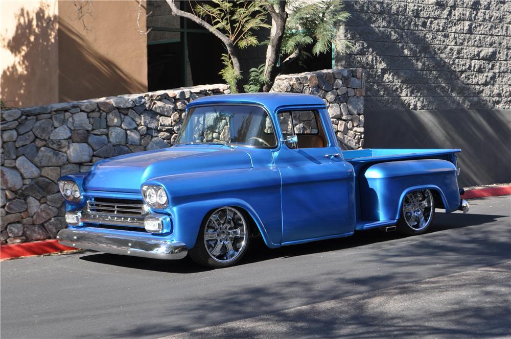 1959 Chevrolet 3100 Custom Pickup - The Bid Watcher