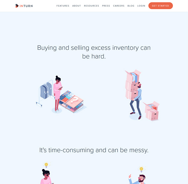 Home Page Animated Illustrations That Tell Story  Describe Benefits