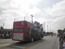 2011 Mexican Independence Parade, Dream Act Bus