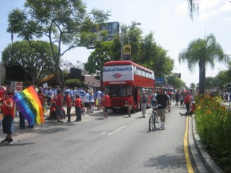2012 Gay Price West Hollywood CA with Bank of America