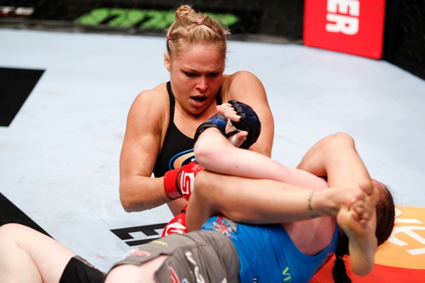 Ronda Rousey-In Action at UFC