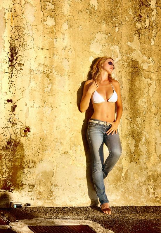 White String Bikini (2)