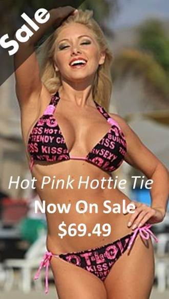 Sale-Hot-Pink-String-Bikini-$69.49