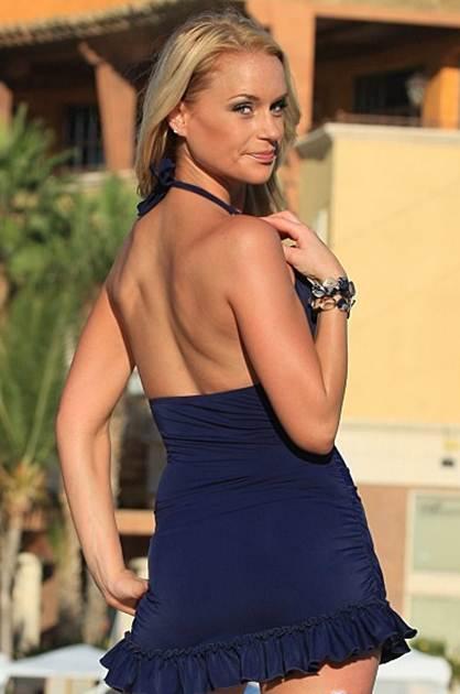 Swimdresses Blue Swim Dresses