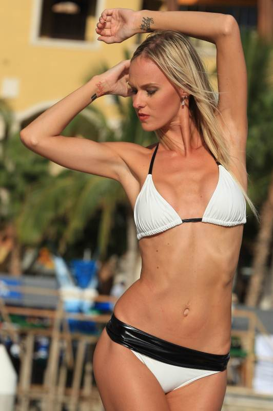 Bikinis For Women with Smaller Chests Banded Sport Bikini
