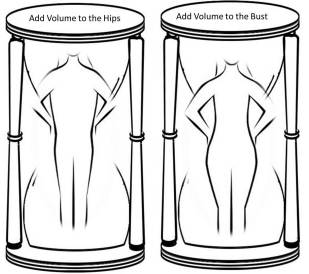 Bikinis for skinny women diagrams