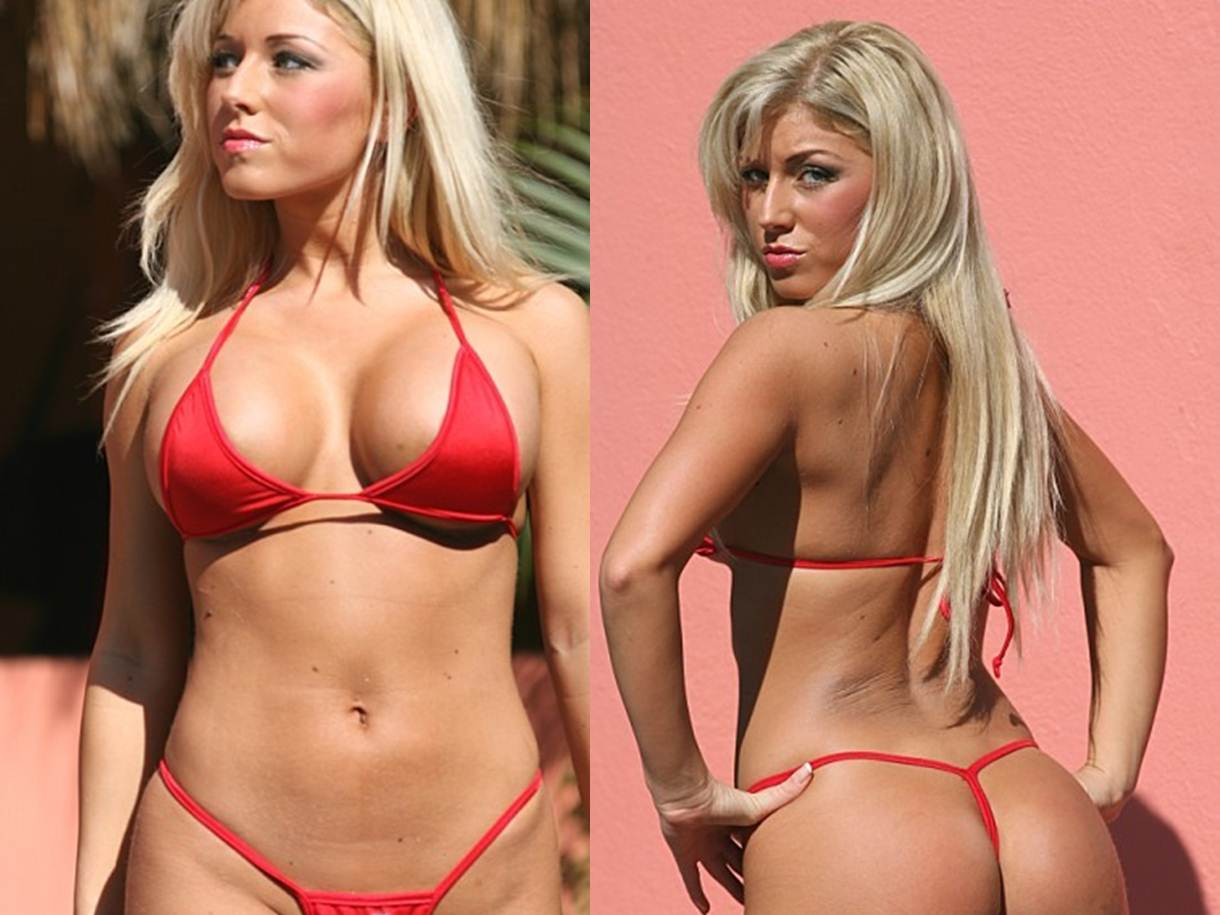 Finding the Right Thong Bikini as a Plus Size Women Tiny Red G String