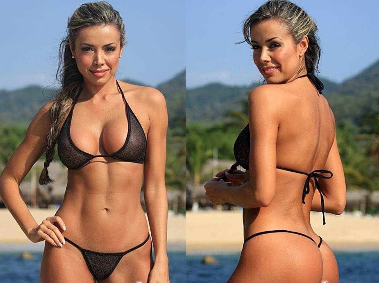 How to Buy your Girlfriend a Thong Bikini Shher Black G String