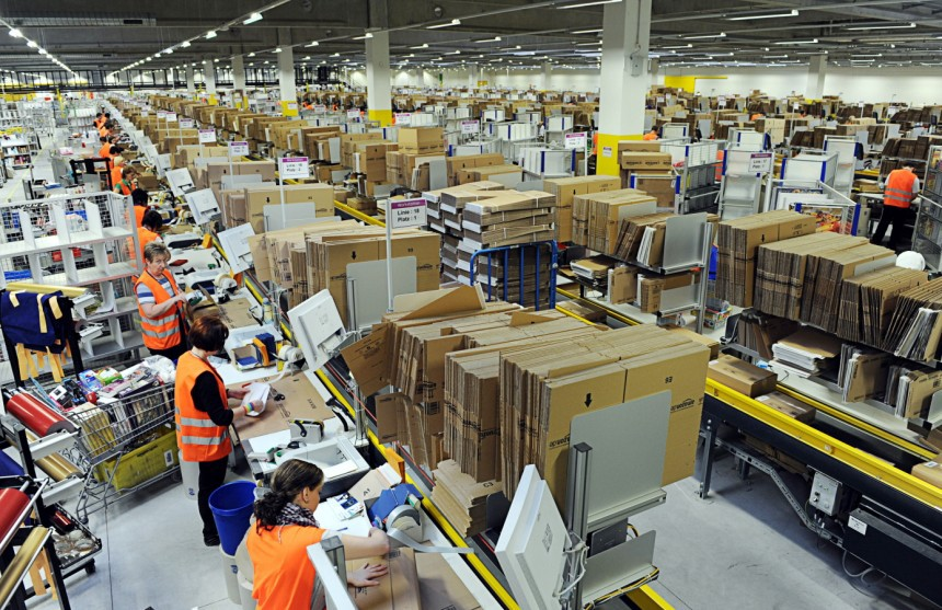 My Two Months of Seasonal Work at an Amazon Fulfillment Center - The