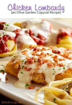 Small Of Chicken Lombardy Recipe