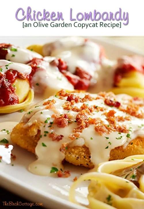 Medium Of Chicken Lombardy Recipe