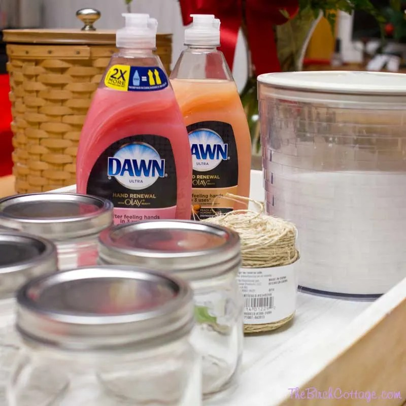 DIY Dawn Hand Renewal Sugar Hand Scrub