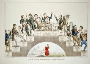 the drunkards progress