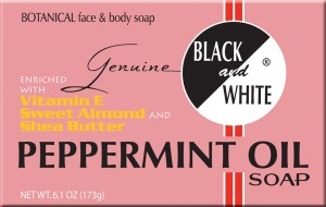 BW Peppermint Soap