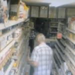 Did ghost push tea off shelf of British store?