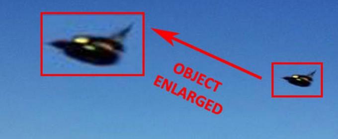 Very Strange Dark Aerial Object Captured on Photo