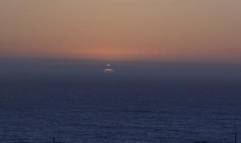 UFO over Bodega Bay, California